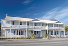 Greytown's White Swan Hotel was the national category winner for commercial buildings last year. Photo / Supplied
