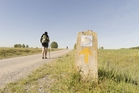 The Camino de Santiago de Compostela is a weeks-long walk through fields and across mountains. Photo / 123RF