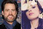 Jim Carrey's former girlfriend Cathriona White (r) has reportedly committed suicide.