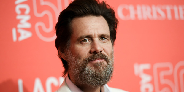Actor Jim Carrey. Photo / Getty Images