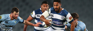 George Moala scored a pair of tries as Auckland thumped Northland. Photo / Getty