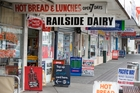 SCENE: Railside Dairy, the location of the stabbing.PHOTO/NZME