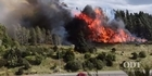 Fires rage across Otago