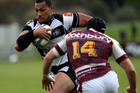 Robbie Fruean scored a crucial try to help Hawkes Bay past Southland. Photo / Getty