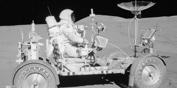 Pictures from NASA's Apollo mission during Moon missions from 1969 to 1972. Photo / NASA/Flickr