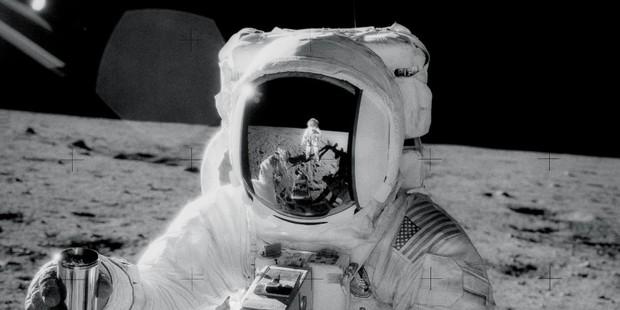 Astronaut Alan L. Bean during the Apollo 12 mission. Photo / NASA/Flickr