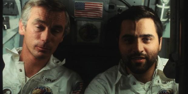 Harrison Schmitt and Gene Cernan, Apollo 17. Photo / NASA, Flickr