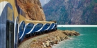 Feats of engineering and incredible scenery keep the journey on the Rocky Mountaineer interesting. Photo / Supplied