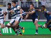 Auckland wing Bryce Heem in action against Otago. Photo / Greg Bowker