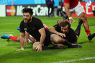 Nehe Milner-Skudder will start at the right wing, after scoring two tries against Tonga. Photo / Getty Images
