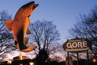 Gore's giant trout is a memorable marker of the town and can be seen