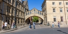 The Bridge of Sighs joins two parts of Hertford College. Photo / Patricia Greig