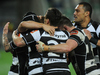 Ihaia West slotted a sideline conversion in the 78th minute to snatch a dramatic 26-25 ITM Championship final victory at McLean Park. Photo / Getty Images