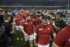 France exited the World Cup after a heavy defeat at the hands of the All Blacks. Photo / Brett Phibbs