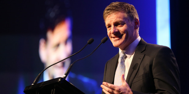 "Finance Minister Bill English claimed ""John Key runs the most transparent government that New Zealand's ever seen"". Photo / Jason Oxenham"