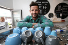 Owner of Mount Maunganui's Luca Cafe, Dan Comber, says he loves making and serving good coffee. Photo/John Borren
