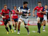 Akira Ioane of Auckland charges forward during the ITM Cup Semi Final between Auckland and Tasman. Photo / Getty