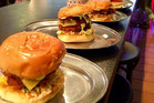 Burgers at Huxtaburger in Melbourne. Photo / Supplied