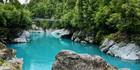 The gorgeous Hokitika Gorge. Photo / West Coast Tourism