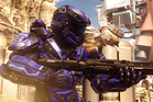 A scene from the video game Halo 5: Guardians.