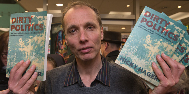 Police will not say whether Nicky Hager is a witness or a suspect. Photo / Mark Mitchell