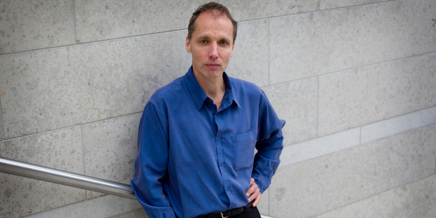 Nicky Hager interviewed by Michele Hewitson for the Weekend Herald. Photo / Christine Cornege