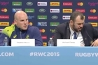 """Australia coach Michael Cheika says Australia must """"do something special"""" to beat New Zealand in next Saturday's Rugby World Cup final."""