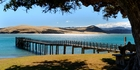 The view across the harbour from Omapere. Photo / Supplied