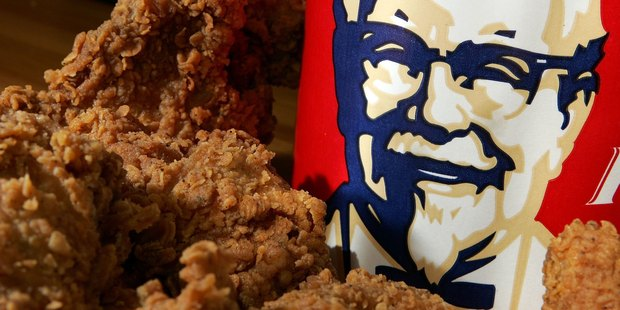 "Now you can make like Kanye and ""split the buffet at KFC"". There's just one catch. Photo / Getty"
