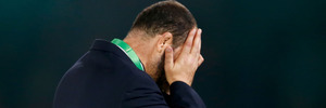 Michael Cheika was upset that an English paper published photos revealing his tactics. Photo / Getty