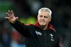 Warren Gatland will end his stint at Wales coach in 2019. Photo / Getty