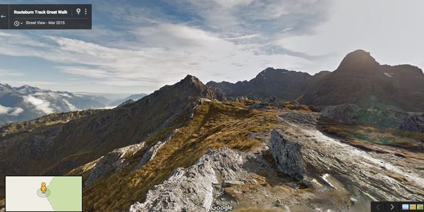Google Maps: Routeburn Track, Conical Hill. Photo / Supplied
