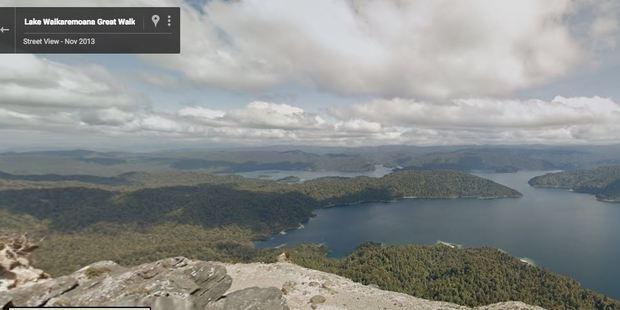 Google Maps: Lake Waikaremoana. Photo / Supplied