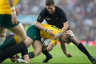 Richie McCaw received a perfect ten in the Rugby World Cup final player ratings. Photo / Brett Phibbs