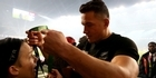 Watch: All Blacks: SBW gives World Cup medal to boy