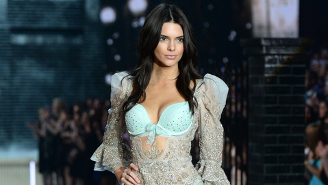 Kendall Jenner walks the runway during the Victoria's Secret Fashion Show at the Lexington Armory in New York