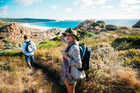 A guide to coastal fauna comes in handy on the trails. Photo / Supplied