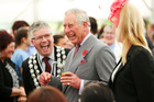 A royal tea party for New Plymouth