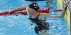 New Zealand swimmer Lauren Boyle. Photo / Greg Bowker.