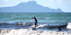 Waipu Cove is a top surf spot. Photo / Michael Cunningham