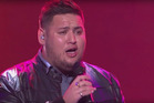 Big T performs R Kelly's I Believe I Can Fly on The X Factor. Photo/YouTube