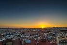 Sunset over Lisbon is glorious. Photo / MHX