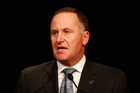 Prime Minister John Key said publicly he had been given the name of a person who was said to be the hacker Rawshark. Photo / Getty Images