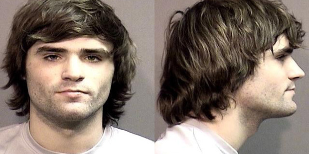 "Hunter Park, 19, was arrested by University of Missouri police ""for making a terrorist threat."" Photo / Washington Post"