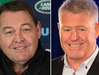 Steve Hansen, Head Coach All Blacks and Steve Tew, CEO New Zealand Rugby. Photos / Brett Phibbs,  Nick Reed