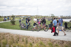The Onehunga Taumanu opened last week and is perfect for cycling. Photo / Kurt Shanks