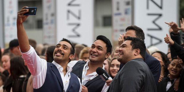 Sol3 Mio pipped everyone by taking out the Highest Selling Album award. Photo / Jason Oxenham