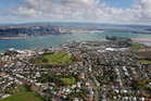 Low-lying areas of Auckland could be at risk from rising sea levels. Photo / Brett Phibbs, NZ Herald