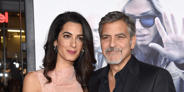 George Clooney has revealed his proposal to Amal Clooney took 25 minutes. Photo / Getty
