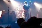 The Eagles of Death Metal froze midway through a song as the terrorists opened fire. Photo / YouTube